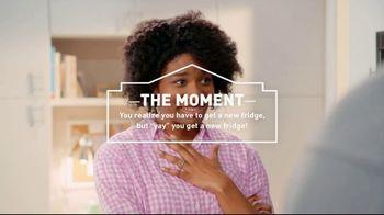Lowe's TV Spot, 'The Moment: New Fridge: Whirlpool' - 742 commercial airings