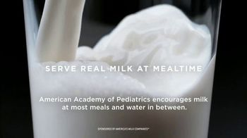 America's Milk Companies TV Spot, 'Three Servings a Day'