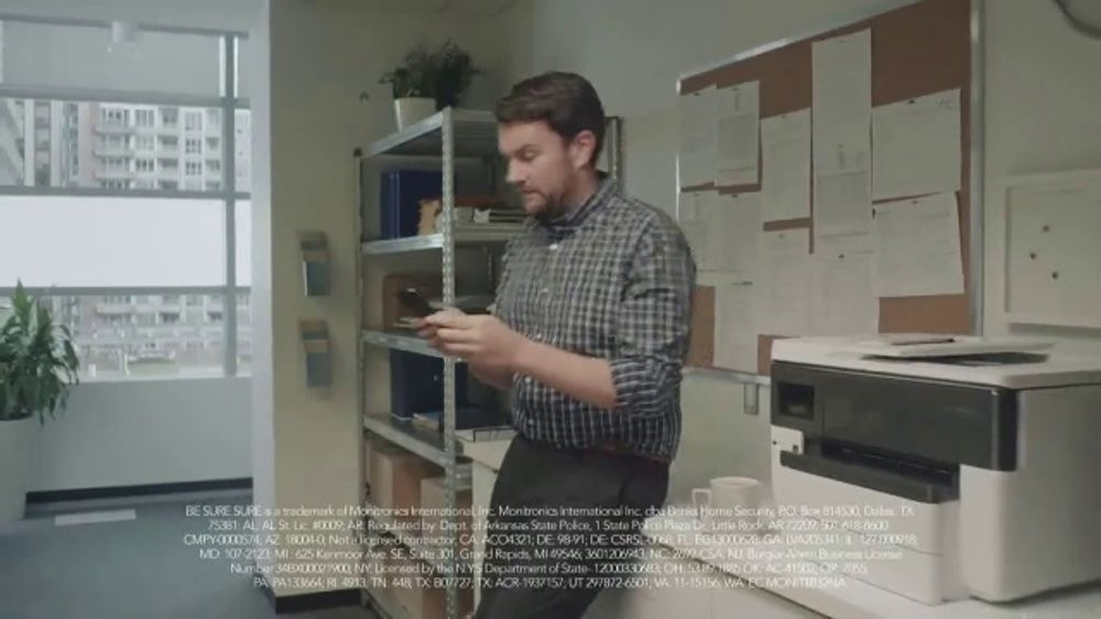 Brinks Home Security TV Commercial, 'Sure Is Not Enough ...