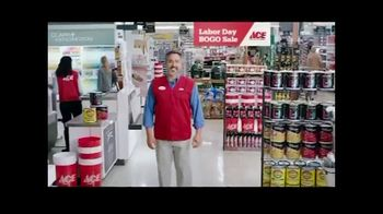 ACE Hardware Labor Day BOGO Sale TV Spot, 'Paints and Stains' - Thumbnail 1