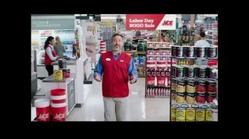 ACE Hardware Labor Day BOGO Sale TV Spot, 'Paints and Stains' - Thumbnail 2