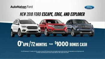 AutoNation Ford TV Spot, 'Join the Crowd: Escape, Edge and Explorer' - 12 commercial airings