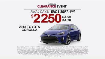 Toyota National Clearance Event TV Spot, 'Could Be Yours' [T2] - Thumbnail 7