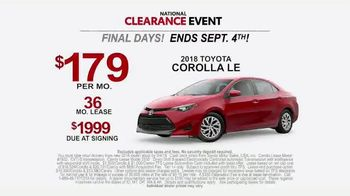 Toyota National Clearance Event TV Spot, 'Could Be Yours' [T2] - Thumbnail 8