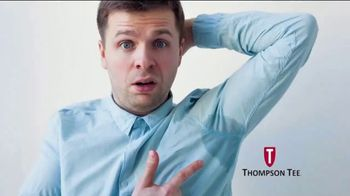 Thompson Tee TV Spot, 'No More Sweaty Pits' Song by London Music Works - Thumbnail 1