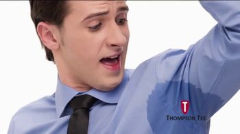 Thompson Tee TV Spot, 'No More Sweaty Pits' Song by London Music Works - Thumbnail 2