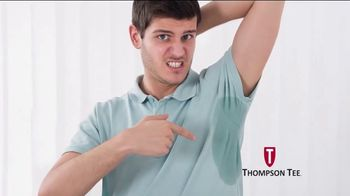 Thompson Tee TV Spot, 'No More Sweaty Pits' Song by London Music Works - Thumbnail 3