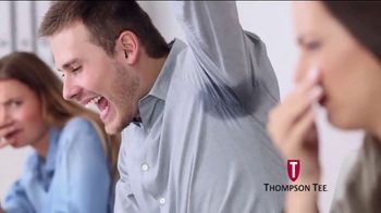 Thompson Tee TV Spot, 'No More Sweaty Pits' Song by London Music Works - Thumbnail 4