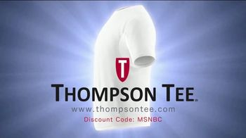 Thompson Tee TV Spot, 'No More Sweaty Pits' Song by London Music Works - Thumbnail 7
