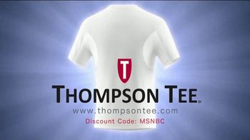 Thompson Tee TV Spot, 'No More Sweaty Pits' Song by London Music Works - Thumbnail 8
