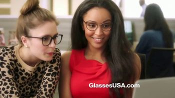 GlassesUSA.com Labor Day Sale TV Spot, 'New Pair Online'