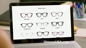 GlassesUSA.com Labor Day Sale TV Spot, 'New Pair Online' - Thumbnail 6