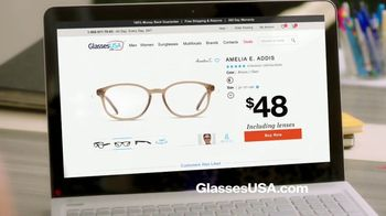 GlassesUSA.com Labor Day Sale TV Spot, 'New Pair Online' - Thumbnail 8