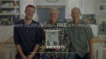 Ancestry TV Spot, 'Search 300,000 Yearbooks Free' - Thumbnail 8