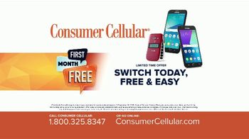 Consumer Cellular TV Spot, 'Better Value: Pie: First Month Free: Plans $15+ a Month' - Thumbnail 8