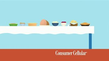 Consumer Cellular TV Spot, 'Better Value: Pie: First Month Free: Plans $15+ a Month' - Thumbnail 1