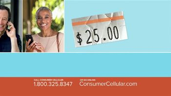 Consumer Cellular TV Spot, 'Better Value: Pie: First Month Free: Plans $15+ a Month' - Thumbnail 4