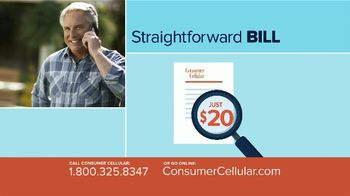 Consumer Cellular TV Spot, 'Better Value: Pie: First Month Free: Plans $15+ a Month' - Thumbnail 5