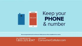 Consumer Cellular TV Spot, 'Better Value: Pie: First Month Free: Plans $15+ a Month' - Thumbnail 7