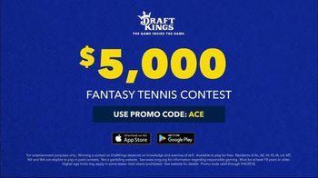 DraftKings Fantasy Tennis TV Spot, '2018 Fantasy Tennis Contest' - Thumbnail 10