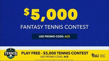 DraftKings Fantasy Tennis TV Spot, '2018 Fantasy Tennis Contest' - Thumbnail 3