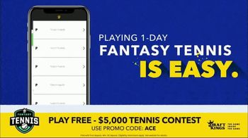 DraftKings Fantasy Tennis TV Spot, '2018 Fantasy Tennis Contest' - 66 commercial airings