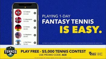 DraftKings Fantasy Tennis TV Spot, '2018 Fantasy Tennis Contest' - Thumbnail 7
