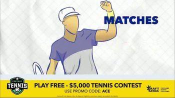 DraftKings Fantasy Tennis TV Spot, '2018 Fantasy Tennis Contest' - Thumbnail 8
