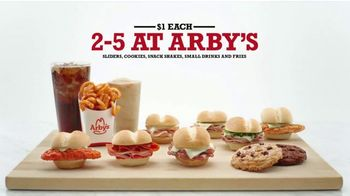 Arby's TV Spot, '2-5 at Arby's: $1 Each' Song by YOGI