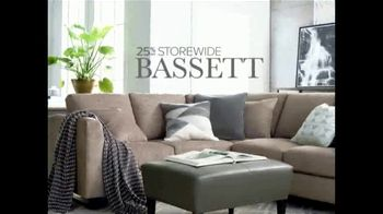 Bassett Labor Day Sale TV Spot, 'Spruce Up Your Space: No Interest' - Thumbnail 2
