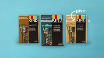 KIND Dark Chocolate Nuts & Sea Salt TV Spot, 'Give KIND a Try!' - Thumbnail 6