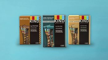 KIND Dark Chocolate Nuts & Sea Salt TV Spot, 'Give KIND a Try!' - Thumbnail 5