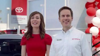 Toyota National Clearance Event TV Spot, 'So Excited' [T2] - 176 commercial airings