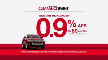 Toyota National Clearance Event TV Spot, 'So Excited' [T2] - Thumbnail 6