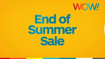 WOW! End of Summer Sale TV Spot, 'Rolling Out'