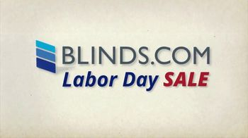 Blinds.com Labor Day Sale TV Spot, 'Up to 50 Percent Off Sitewide' - Thumbnail 1