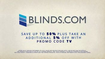 Blinds.com Labor Day Sale TV Spot, 'Up to 50 Percent Off Sitewide' - Thumbnail 7
