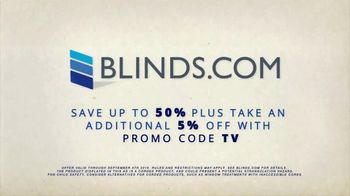Blinds.com Labor Day Sale TV Spot, 'Up to 50 Percent Off Sitewide' - Thumbnail 8