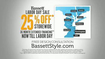Bassett Labor Day Sale TV Spot, 'Extended Financing' - Thumbnail 10