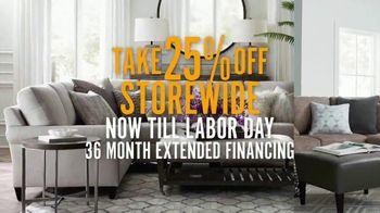 Bassett Labor Day Sale TV Spot, 'Extended Financing' - Thumbnail 2