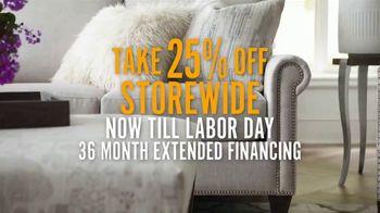 Bassett Labor Day Sale TV Spot, 'Extended Financing' - Thumbnail 3