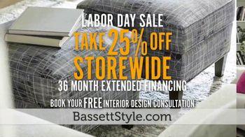 Bassett Labor Day Sale TV Spot, 'Extended Financing' - Thumbnail 8