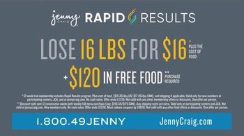 Jenny Craig Rapid Results TV Spot, 'Justin: $120 in Free Food' - Thumbnail 10