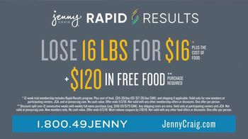 Jenny Craig Rapid Results TV Spot, 'Justin: $120 in Free Food' - Thumbnail 9