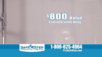 Safe Step Walk-In Tub TV Spot, 'Shower Package' - Thumbnail 4