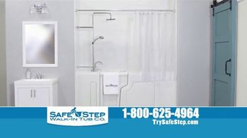 Safe Step Walk-In Tub TV Spot, 'Shower Package' - Thumbnail 9