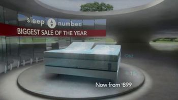 Sleep Number Biggest Sale of the Year TV Spot, 'All Beds on Sale' - Thumbnail 2