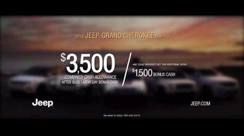 Jeep Labor Day Sales Event TV Spot, 'Labor Day: VIP' [T2] - Thumbnail 9