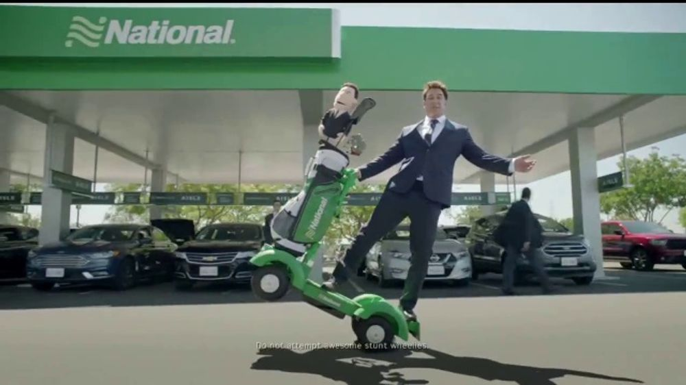 National Car Rental TV Commercial, 'We've Got It Covered' Feat. Patrick Warburton