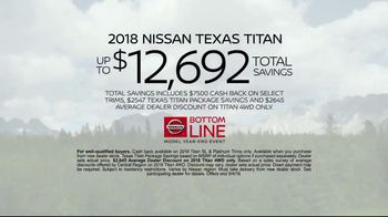 Nissan Bottom Line Model Year-End Event TV Spot, 'Big Clearance Savings' [T2] - Thumbnail 8